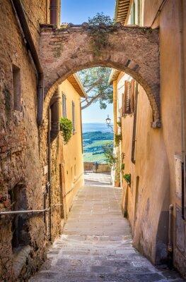 Fotomural Montepulciano en Toscana
