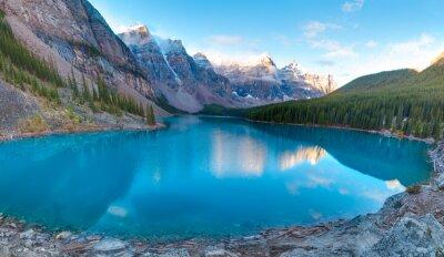 Fotomural Moraine lago panorama