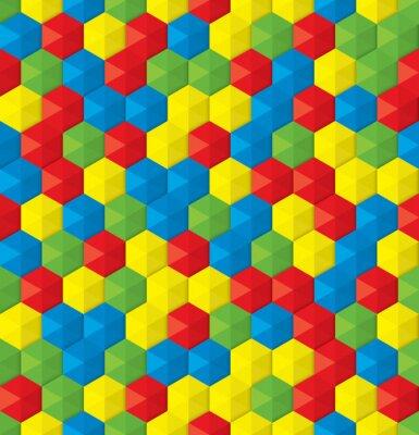 Fotomural mosaico plástico de fondo sin fisuras