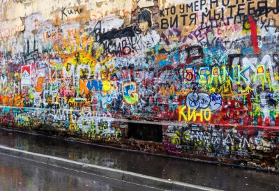 Fotomural Moscú graffitis