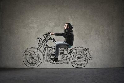 Fotomural Moto
