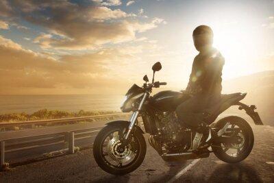 Fotomural Moto a Ocean Road