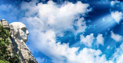 Fotomural Mount Rushmore al atardecer, Dakota del Sur - Estados Unidos