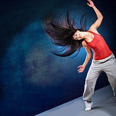 Fotomural muchacha de la danza