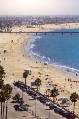 Fotomural Muelle en Long Beach, Los Ángeles, California