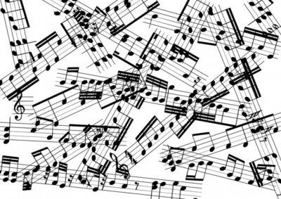 Fotomural música