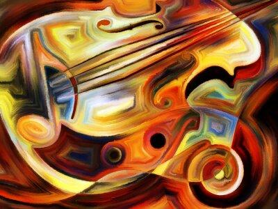 Fotomural Música Conceptual