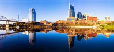 Fotomural Nashvillle Skyline, Tennessee, EE.UU.