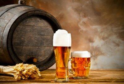 Fotomural Naturaleza muerta Cerveza