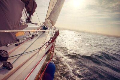 Fotomural Navegando bajo el viento un
