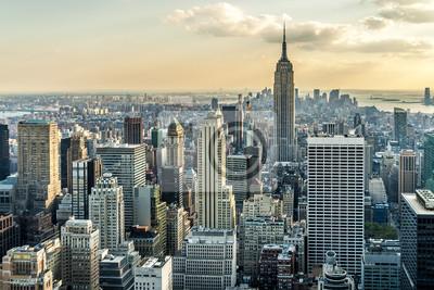 Fotomural New York City Aerial View