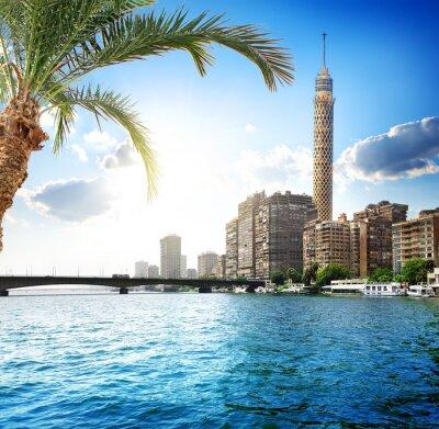 Fotomural Nilo en El Cairo