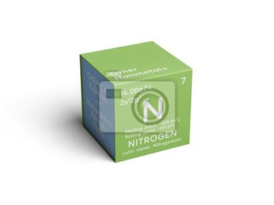 Nitrgeno otros no metales elemento qumico de la tabla peridica fotomural nitrgeno otros no metales elemento qumico de la tabla peridica de mendeleev urtaz Choice Image
