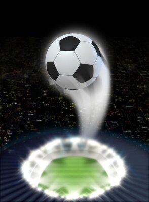 Fotomural Noche de Estadio con Ball Swoosh