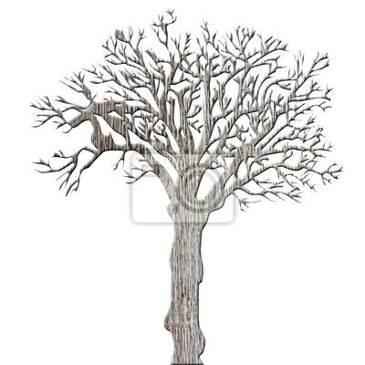 Fotomural nu arbre