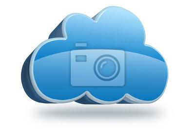 Fotomural nube 3D