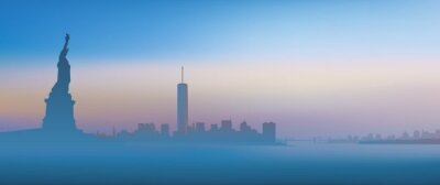 Fotomural Nueva York - aube