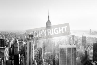 Fotomural Nueva York. Imagen blanco y negro.