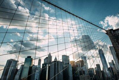 Fotomural Nueva York, Puente de Brooklyn,