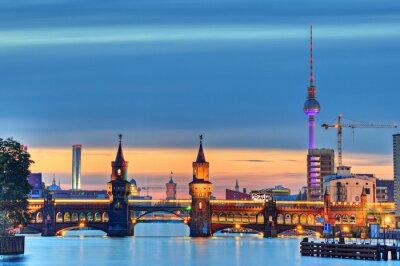 Fotomural Oberbaumbrücke Berlín