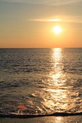 Fotomural Ocaso en el mar