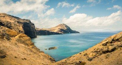 Fotomural Océano con montañas