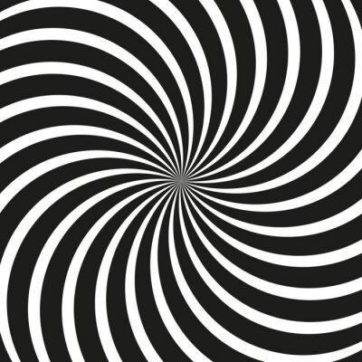 Fotomural Op Art Swirl Spiral Background