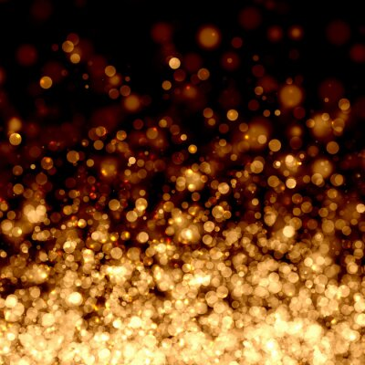 Fotomural Oro luz de fondo abstracto