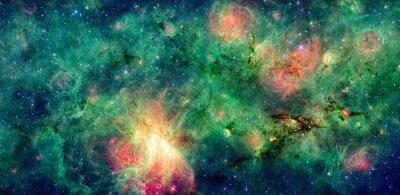 Fotomural Oscura nube M17 y M17 Nebulosa Swex. Retocado y limpiado versión de la imagen original de la NASA