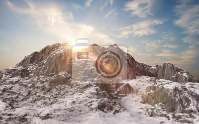 Fotomural Paisaje de invierno