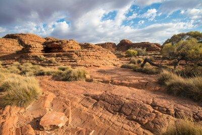 Fotomural Paisaje del cañón de Kings en el Territorio del Norte, Australia.