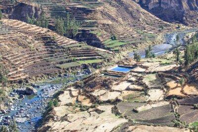 Fotomural Paisaje en los Andes. Perú.
