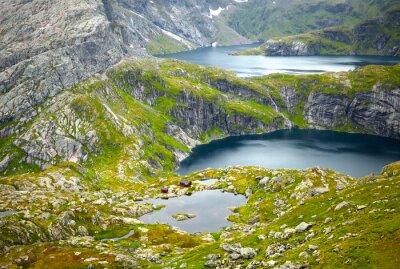Fotomural Paisajes del Norte de Noruega. Islas Lofoten