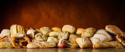 Fotomural Pan y pila de pan