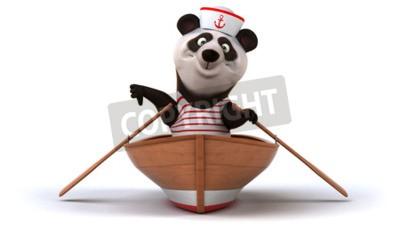Fotomural Panda divertida