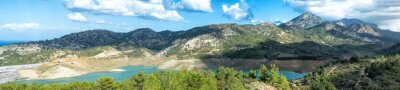 Fotomural Panorama de la orilla del lago