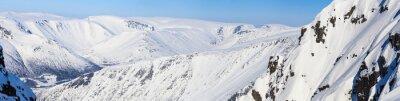 Fotomural Panorama de las montañas del norte