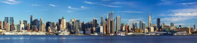 Fotomural Panorama de Manhattan horizonte, la ciudad de Nueva York