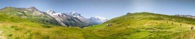 Fotomural Panorama Mont Blac