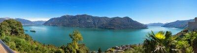Fotomural Panorámica del Lago Maggiore