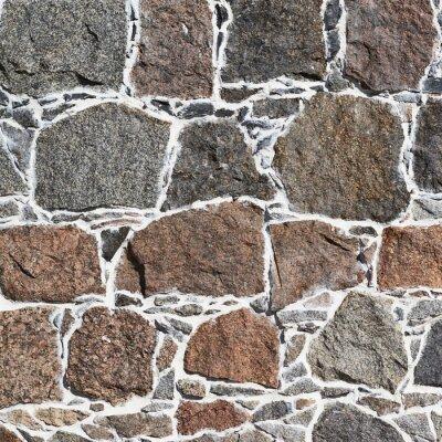 Fotomural Pared de adoquines textura fragmento