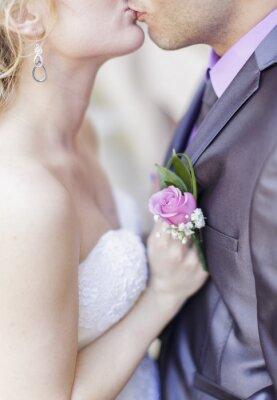 Fotomural Pares de la boda