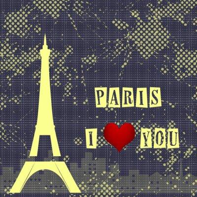 Fotomural Paris - a city of love and romanticism