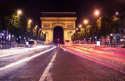 Fotomural París, los Campos Elíseos en la noche