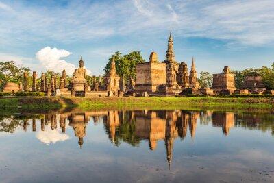 Fotomural Parque Histórico de Sukothai, Tailandia