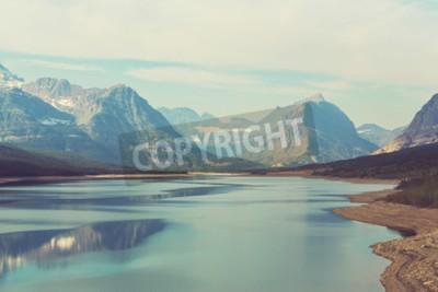 Fotomural Parque Nacional Glacier, Montana, EE.UU.