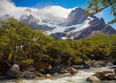 Fotomural Parque Nacional Torres del Paine. Patagonia, Chile