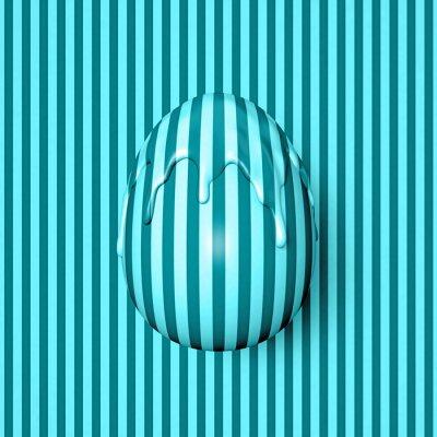 Fotomural Pascua pt.2 rayado huevo