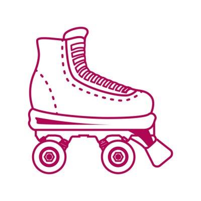 Fotomural patines diseño.