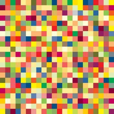 Fotomural Patrón de píxeles de colores